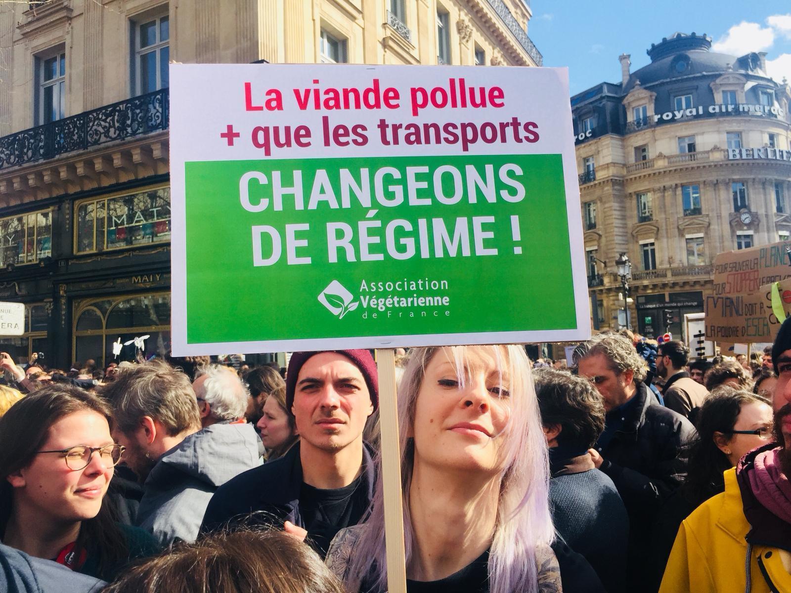 Marche pour le climat paris 9