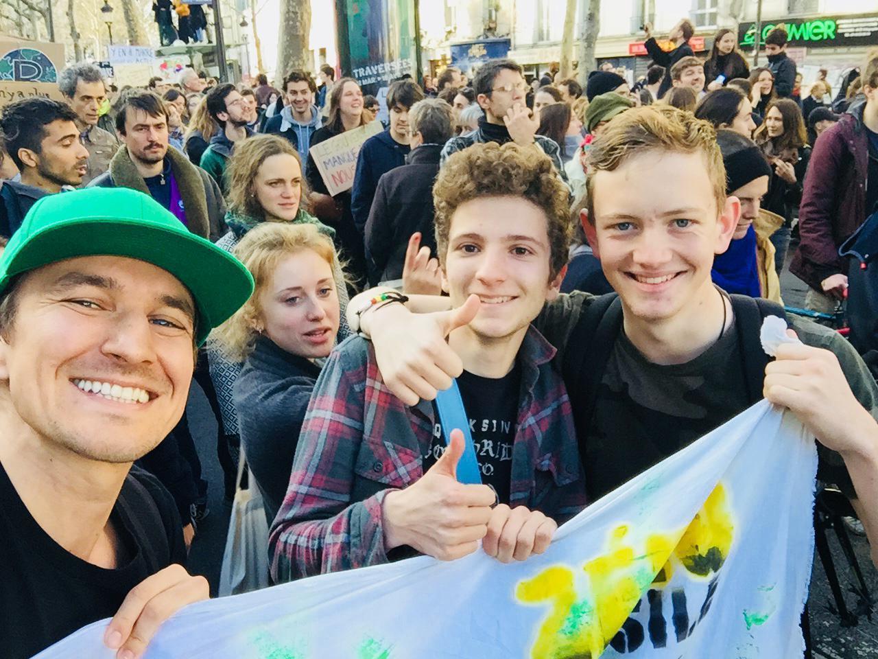 Marche pour le climat paris 8