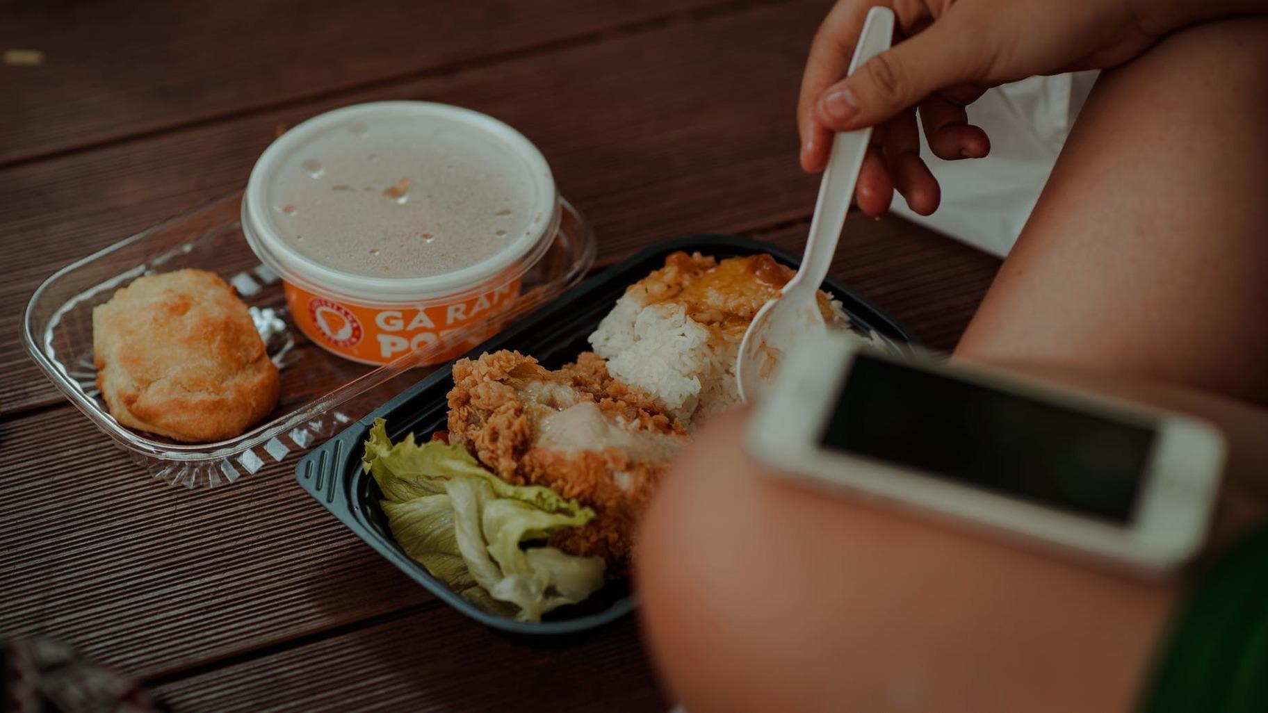 Plastic food helpimeter